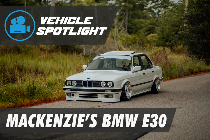 Bagged BMW E30 With Air Lift 3P