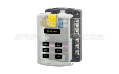 Blue Sea Systems 6 Circuit ATO ATC Fuse Block 1